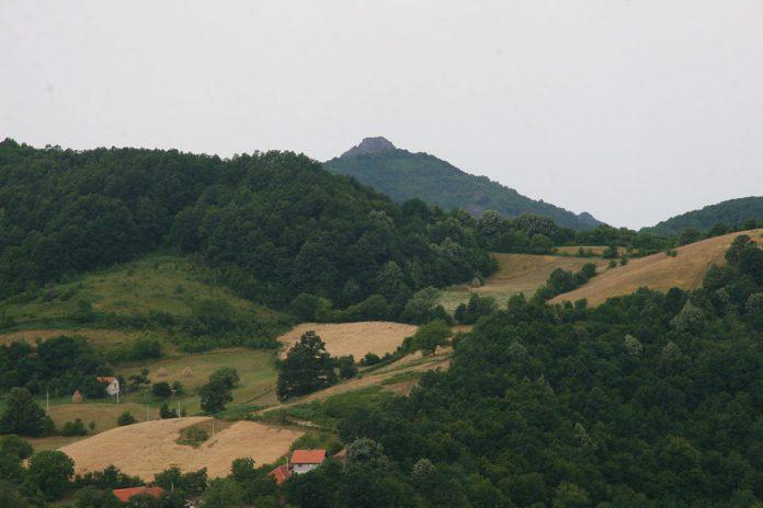 Najviši vrhovi planine Rudnik