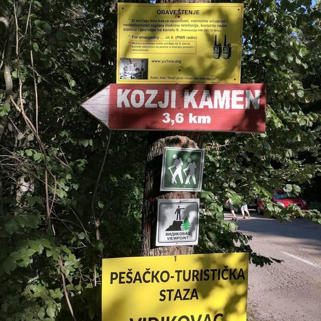 Vidikovac Kozji kamen